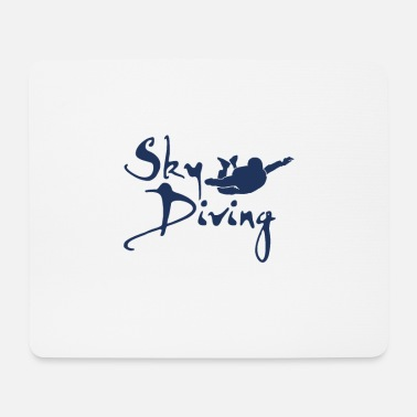 Skydiver Skydiving Skydiving - Mouse Pad