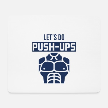 Push Up Push-ups fitness - Mouse Pad