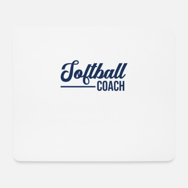 Softball Soft Ball Softball Softballer Mannschaft Spieler - Mousepad