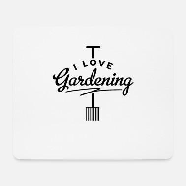 Garden Gardener gardening gardening garden gardener - Mouse Pad