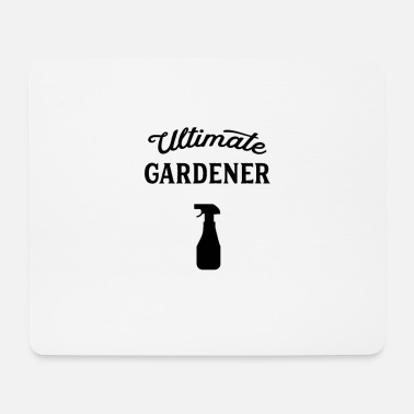 Garden Gardener gardener garden gardening gardening - Mouse Pad