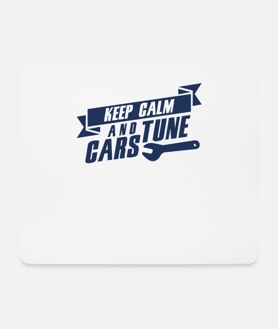 Vehicle Mouse Pads - Tune cars - Mouse Pad white