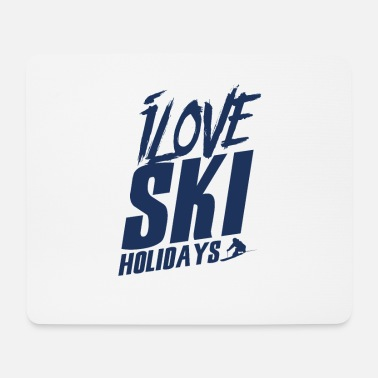 Ski Holidays Ski Winter Holiday Ski Holiday Ski School - Mouse Pad