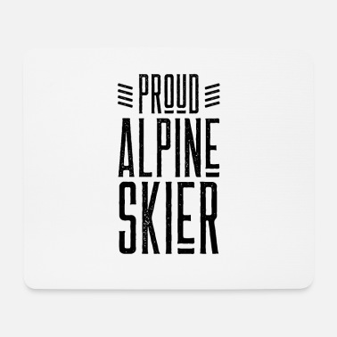 After Ski Alpine Skiing Skiing Skiing Skiing Alpine Skiing - Mouse Pad