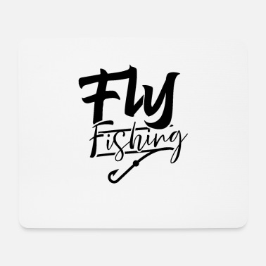 Fly Fly fisherman fly fly fishing fly fishing - Mouse Pad