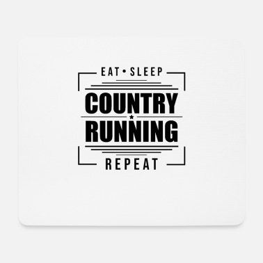 Skis Race Cross Country Mountain Run Cross Country Cross Country - Mouse Pad