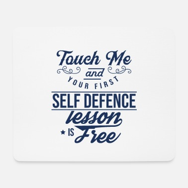 Coach Course Defense School Self Defense Defense - Mouse Pad