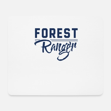 Forest Forestry forest forester forest forester - Mouse Pad