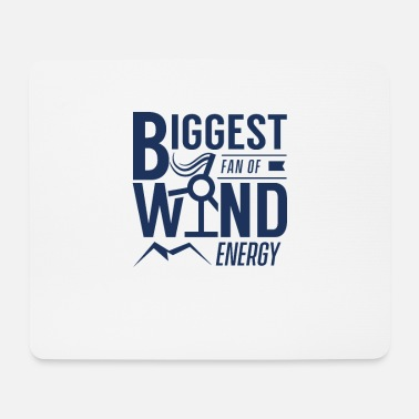 Wind Wind turbine wind turbine wind power wind energy wind - Mouse Pad