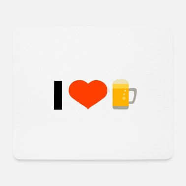 I Love I love - Mousepad