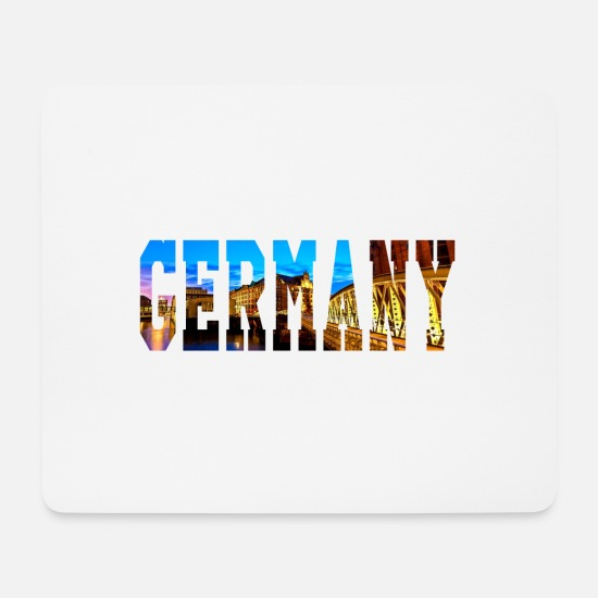 Germany Mouse Pads - GERMANY Germany - Mouse Pad white