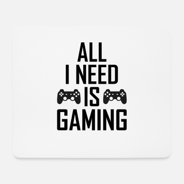 Gamer Gaming gamers gamers gamers - Mouse Pad