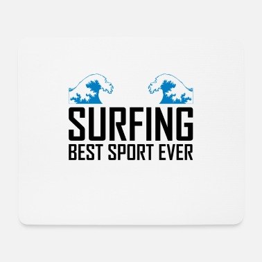 Surf Surfing surfing surfing - Mouse Pad