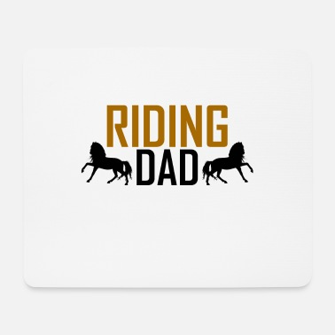 Ride A Horse horse riding - Mouse Pad