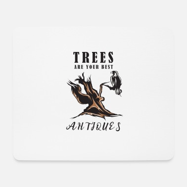 Tree trees antique - Mouse Pad