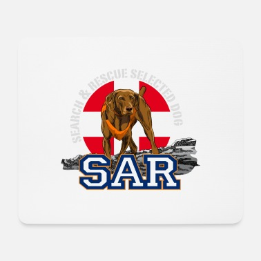 Search Dog search and rescue dog 1 - Mouse Pad