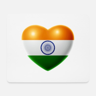 India Heart (India / India) - Mouse Pad