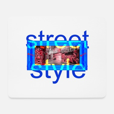 Style street style - Tappetino per mouse (orizzontale)