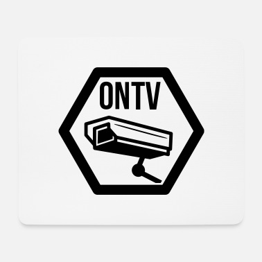 Television television cctv - Mouse Pad