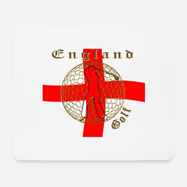 Cotton England_St_George_golf_crest - Mouse Pad