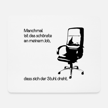 Job Büro Job - Mousepad