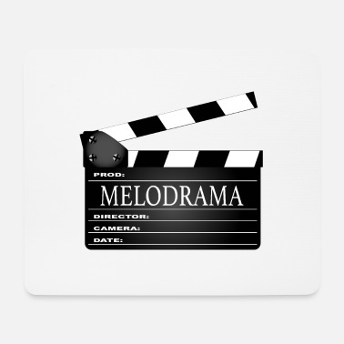 Clapperboard Melodrama Movie Clapperboard - Mouse Pad