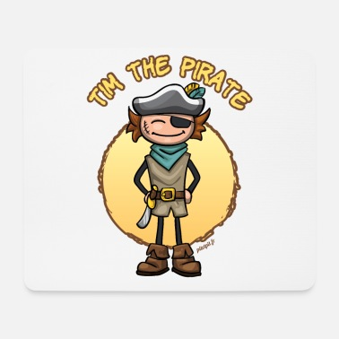 Tim the pirate - Tapis de souris (format paysage)