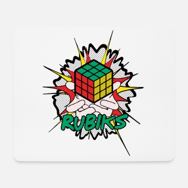 Speedsolving Rubik's Cube Explosion - Tappetino mouse