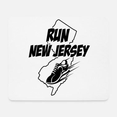 Sprinting Running graphic Run New Jersey Runners design - Mouse Pad
