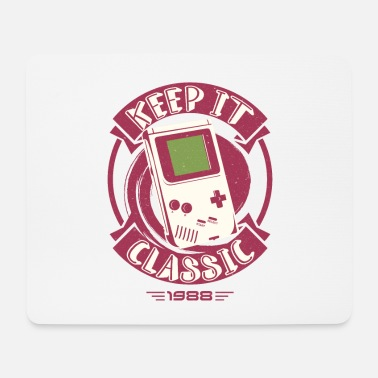 Games Gamer Classic Games Arcade Retro - Mouse Pad