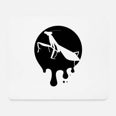 Central Europe Mantis silhouette - Mouse Pad