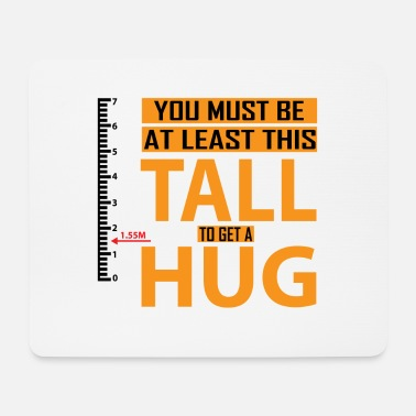 Minimum Minimum size for a hug - Mouse Pad