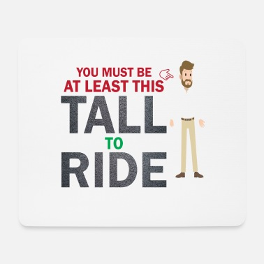 Minimum Minimum size for a ride - Mouse Pad