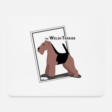 Ixco the Welsh Terrier by IxCÖ - Mouse Pad