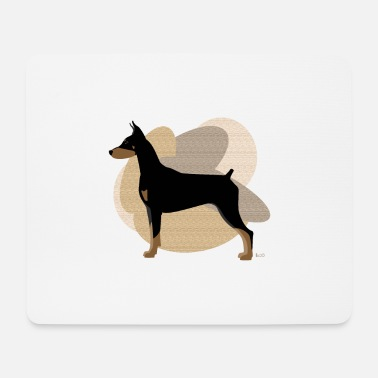 Ixco Dogs Collection by IxCÖ #Doberman - Mouse Pad