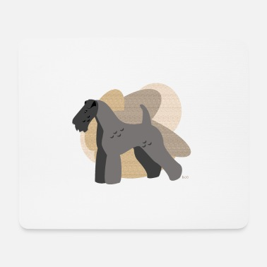 Ixco Dogs Collection by IxCÖ #Kerry Blue - Mouse Pad