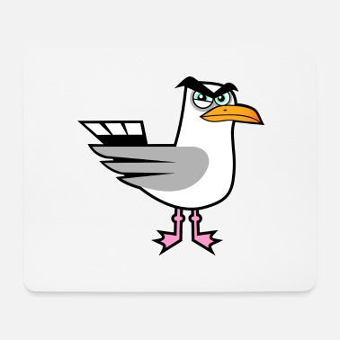 Gull angry seagull - Mouse Pad