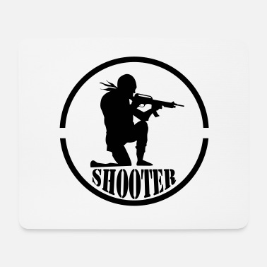 Infantry shooter 001 - Mouse Pad