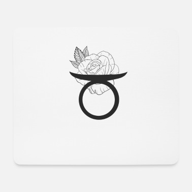 star sign Taurus - Mouse Pad