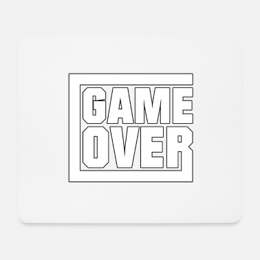 Game Over Game over - gamen - Muismat