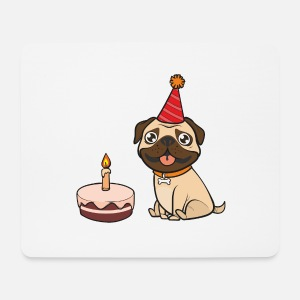 Geburtstag Hund Mops Tierliebe Haustier Geschenk Thermobecher