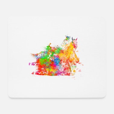 Western Riding Riding western riding - Mouse Pad