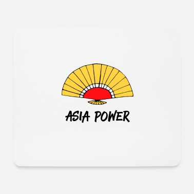 Asien Adj Asien Power Asien Kina Japan Fecher - Mousepad (bredformat)