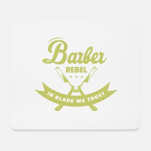 Frisör Rebell Mousepad Spreadshirt