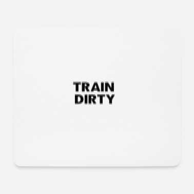 Model TrainDirty mode - Mousepad (bredformat)