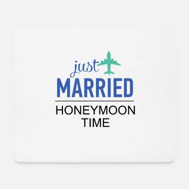 Frisch Verheiratet | Honeymoon - Mousepad