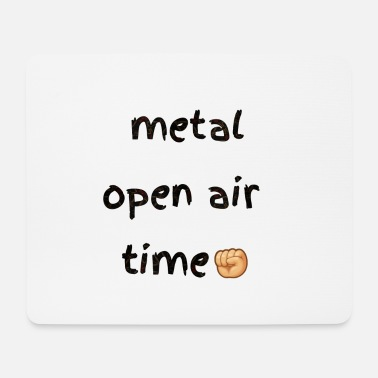 Pagan Metal Metal open air festival time in summer - Mouse Pad
