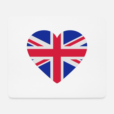 Uk Underwear Heart Britain - Mouse Pad