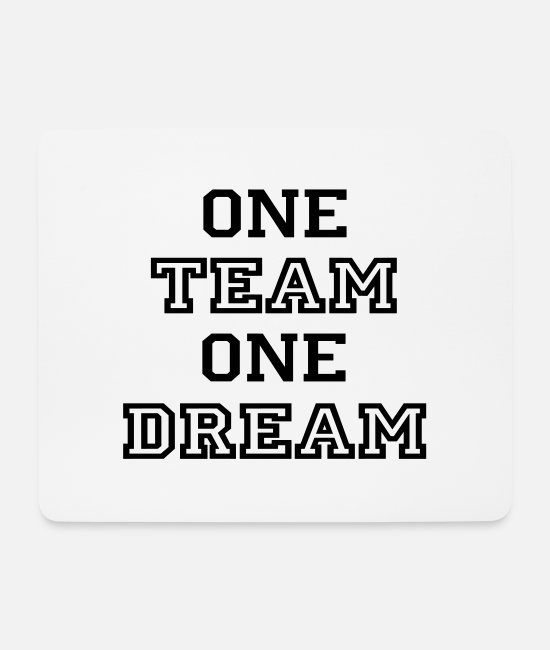 Team Work Mouse Pads - team - Mouse Pad white
