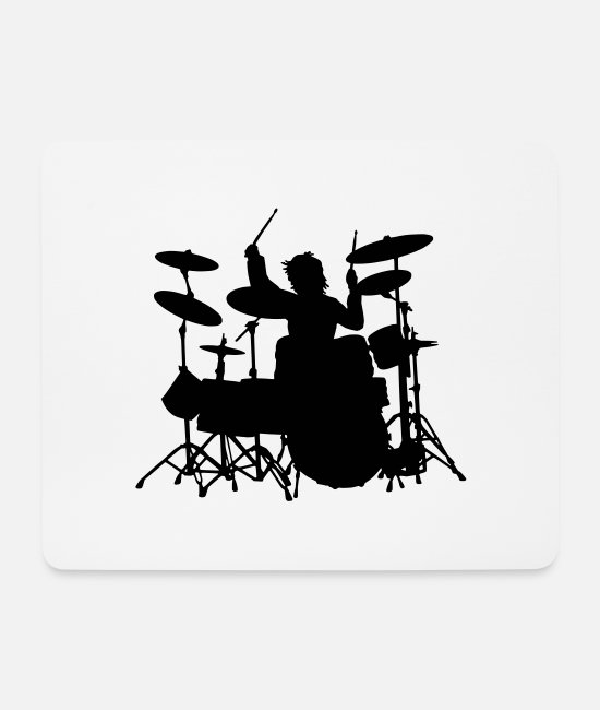 Mapex Mouse Pads - Power Drumming - Mouse Pad white